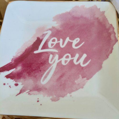 Earring Lovers Gift Hamper | Love You Birthday Box - Earrings + Candle + Trinket Dish