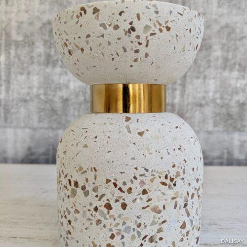Terrazzo Tea Light Candle Holder