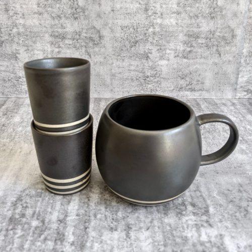 Charcoal Ceramic Coffee Mug