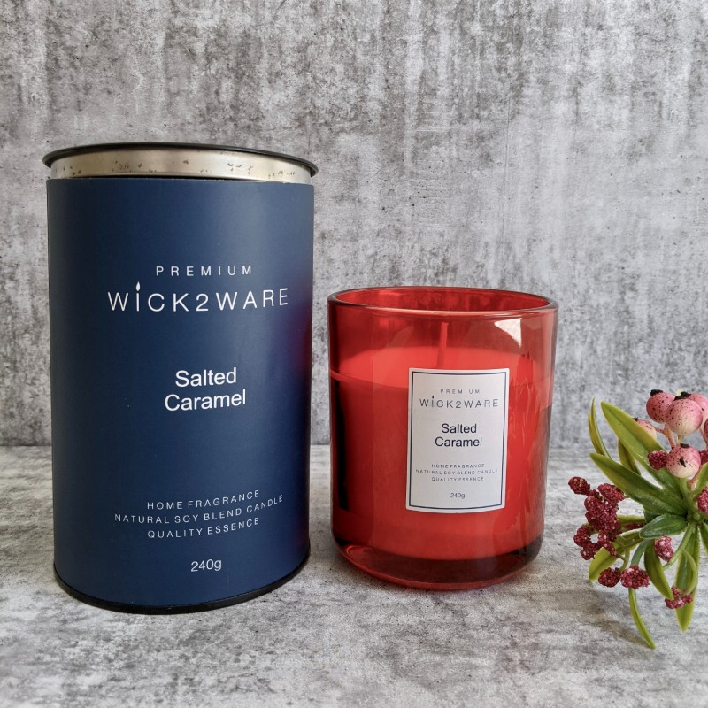 Lux Salted Caramel Candle Jar
