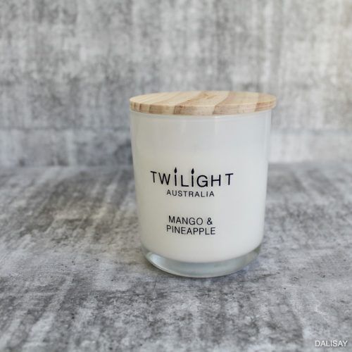 Mango Pineapple Scented Candle Glass Jar