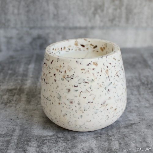 Terrazzo Scented Candle Jar